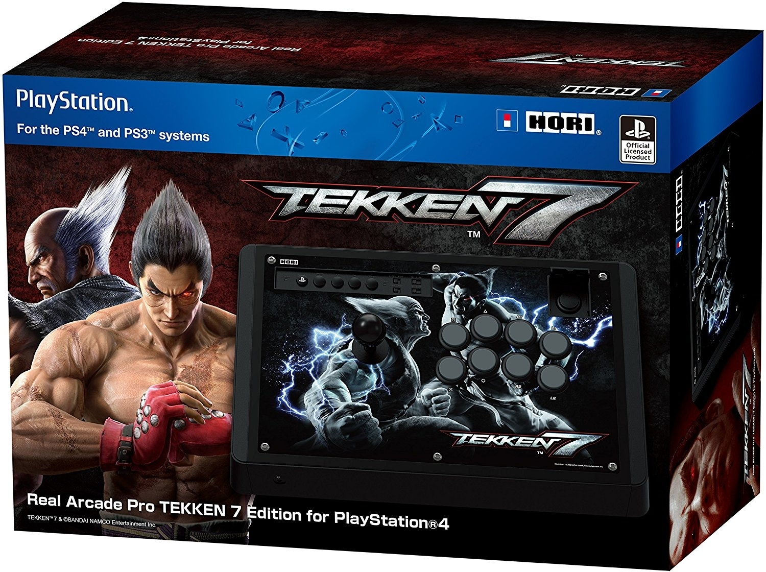 HORI Fighting Stick Real Arcade Pro Tekken 7 Edition (PS4/PS3/PC)